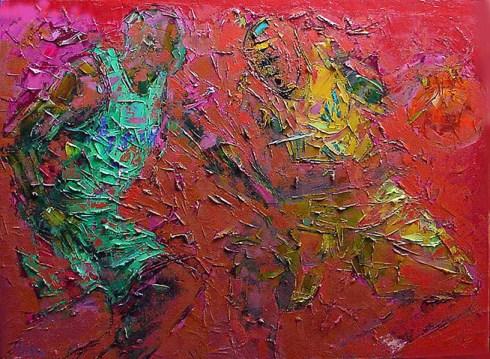Painting by Tafa