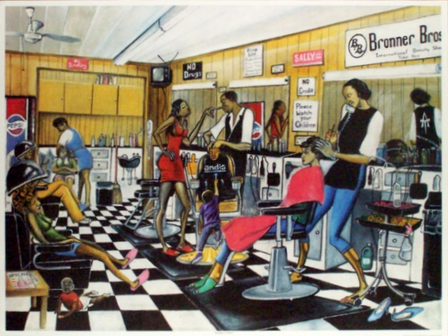 African American Hair Salons Spur Creative Commerce