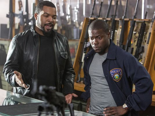 Kevin Hart and Ice Cube