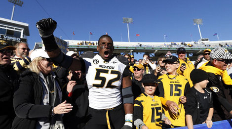 7b2daff66 Yesterday University of Missouri's defensive end Michael Sam was selected  as the winner of the Arthur Ashe Courage Award. The award, which is given to  ...