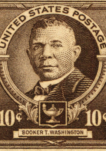 Booker T. Washington stamp