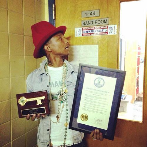 Pharrell-Key-To-City