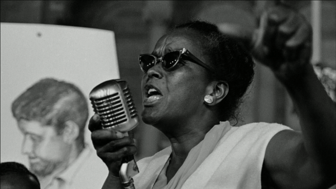 Civil Rights Activist Ella Baker