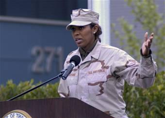 U.S. Veteran Alicia Watkins