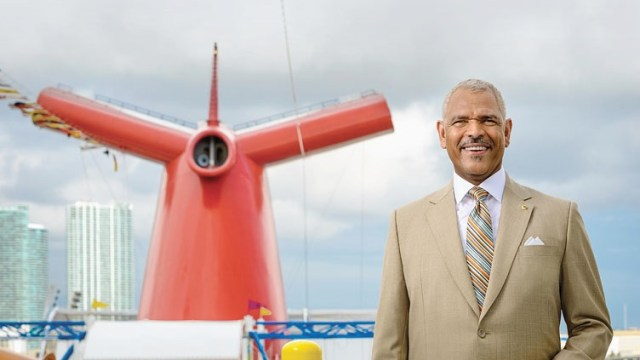 Carnival Cruise Lines CEO Arnold Donald