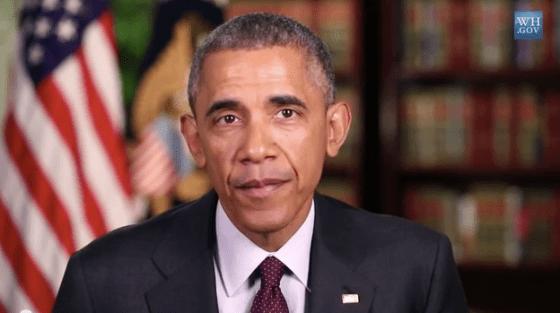 President Barack Obama Addresses America This Holiday Weekend (Courtesy: YouTube)