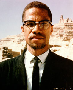 Malcolm X Red Head