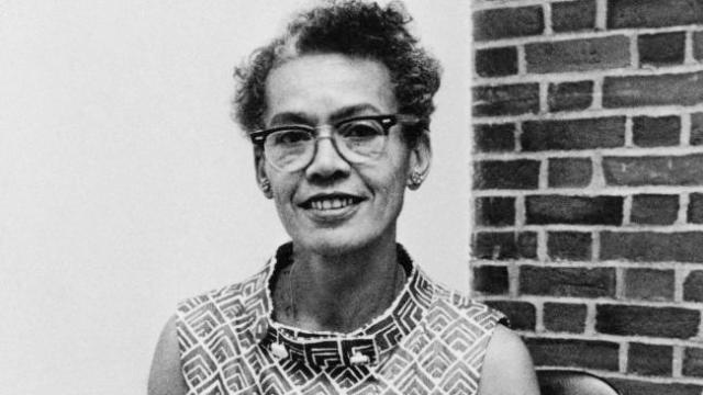 Civil Rights Pioneer Pauli Murray (Photo via thegrio.com)