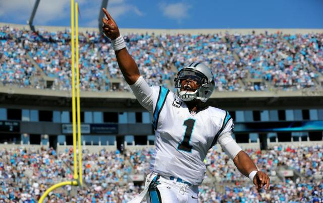 Carolina Panthers Star Quarterback Cam Newton (photo via theurbandaily.com)