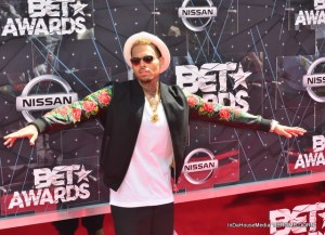 Chris Brown at 2015 BET Awards (Photo credit: Jerome Dorn)