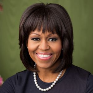 First Lady Michelle Obama (photo via wikipedia.org)