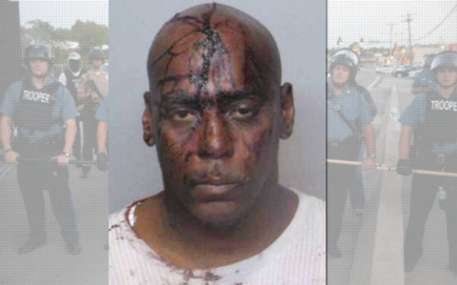 Henry Davis was charged with bleeding on police officers' uniforms after Ferguson protests (photo: DailyBeast.com)