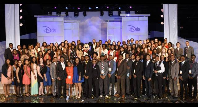 Disney Dreamers Academy Class of 2015 (photo via Courtesy Walt Disney)