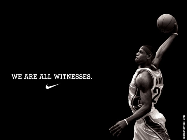 Lebron James/Nike (photo via slamonline.com)