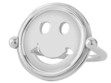 Gus & Al Silver 'Smile' Ring