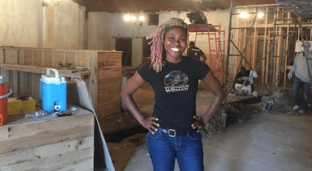 Amalgam Comics and Coffeehouse owner Ariell R. Johnson (photo via Ariell R. Johnson)