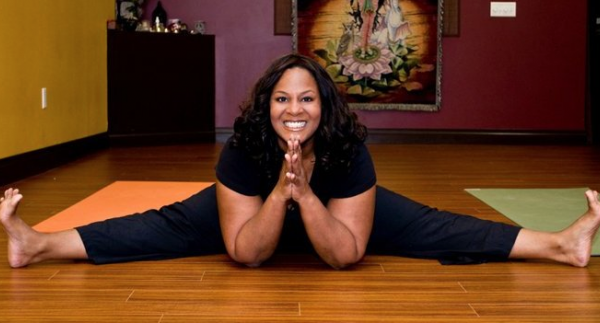 Yoga Teacher Dianne Bondy (photo via black doctor.org)