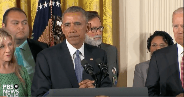 President Obama Unveils Executive Actions to Increase Gun Safety and Reduce Gun Violence (Photo: YouTube)