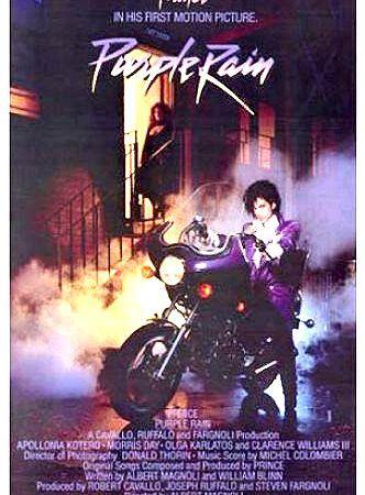 Prince's 1st Film 'Purple Rain' Returning to U S  Theaters This