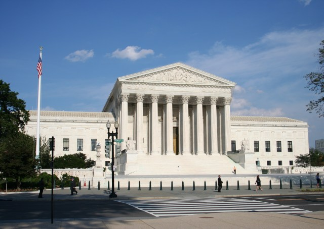 SCOTUS building (photo via wikipedia.com)