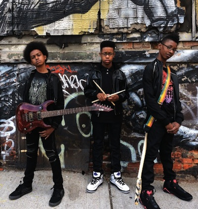 Metal band Unlocking the Truth (photo via sxsw.com)