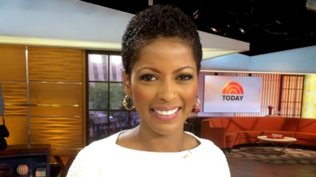 Today Show co-host Tamron Hall (photo via today.com)