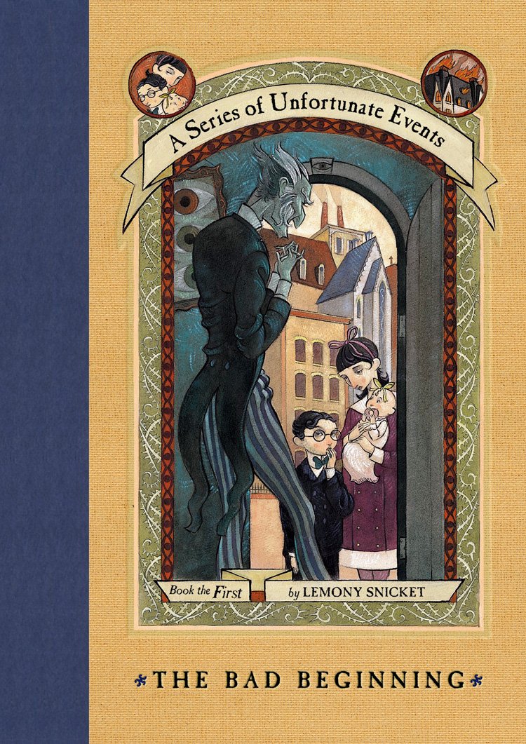 Retro Friday: The Bad Beginning Lemony Snicket Audiobook Review
