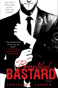Beautiful Bastard by Christina Lauren | Good Books & Good Wine