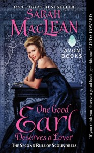 One Good Earl Deserves A Lover | Sarah MacLean | Book Review