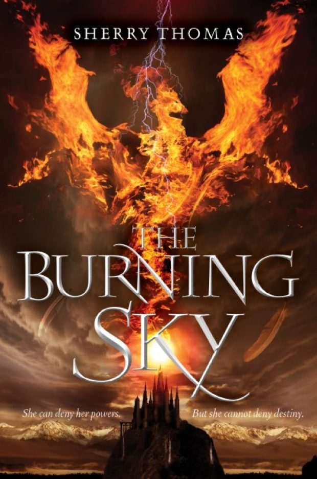 The Burning Sky by Sherry Thomas | Good Books And Good Wine