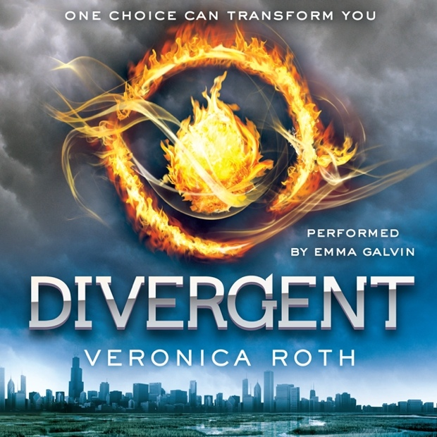 Image result for divergent audiobook