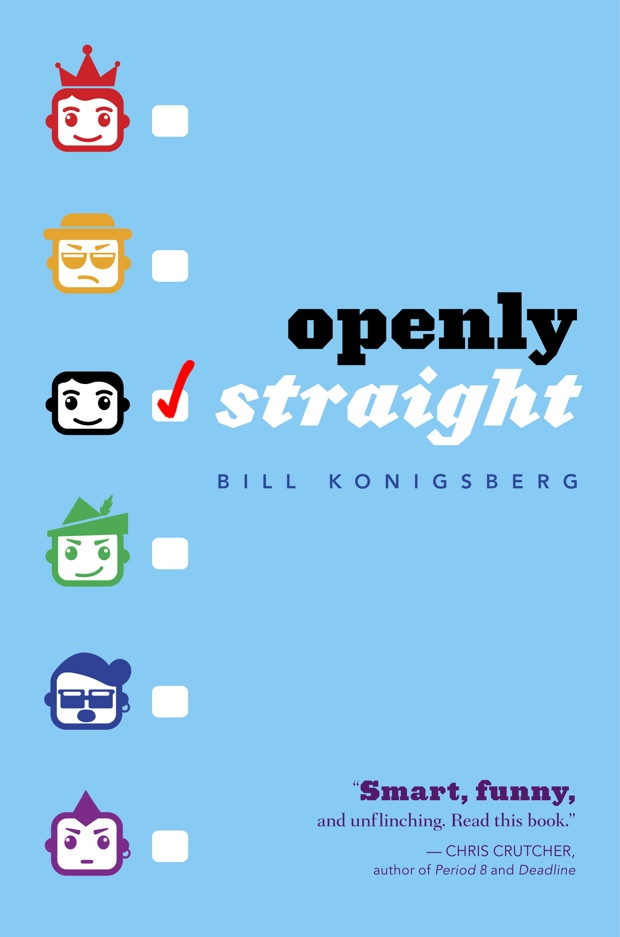 Openly Straight by Bill Konigsberg | Good Books And Good Wine