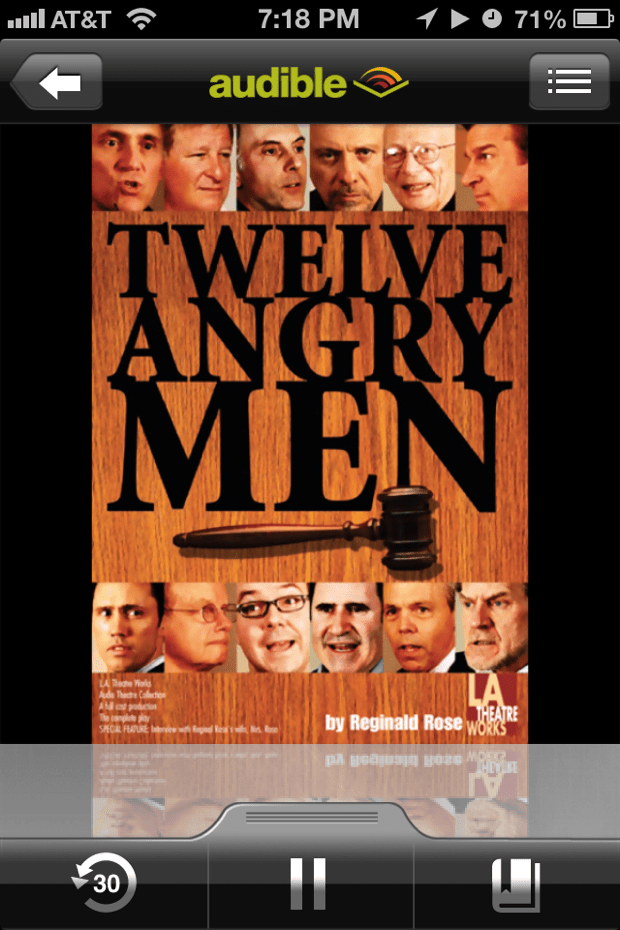 Twelve Angry Men by Reginald Rose | Good Books And Good Wine
