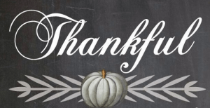 Allison: I Am Thankful For…