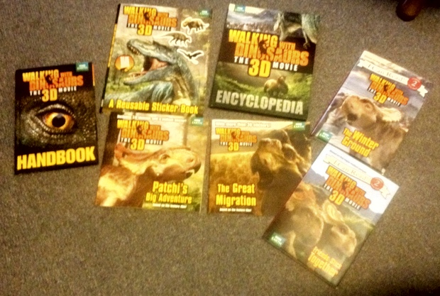 STS 42-11 Walking With Dinosaurs books