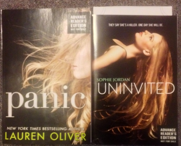 STS 42-4 Panic by Lauren Oliver and Uninvited by Sophie Jordan
