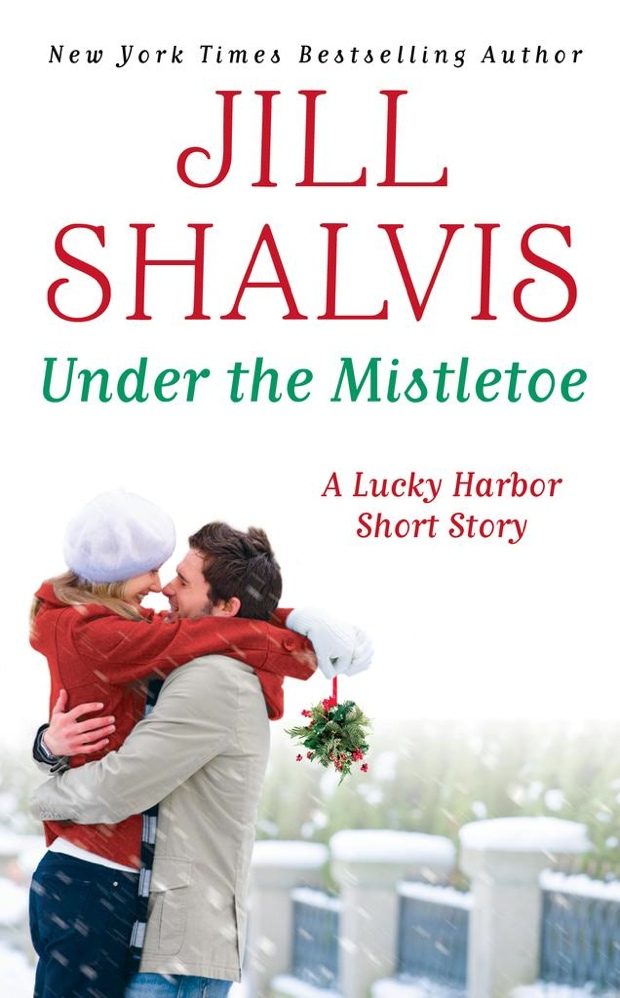 Under The Mistletoe by Jill Shalvis   Good Books And Good WIne