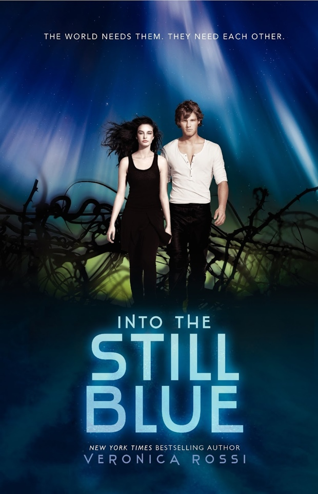 Into The Still Blue Veronica Rossi Book Cover