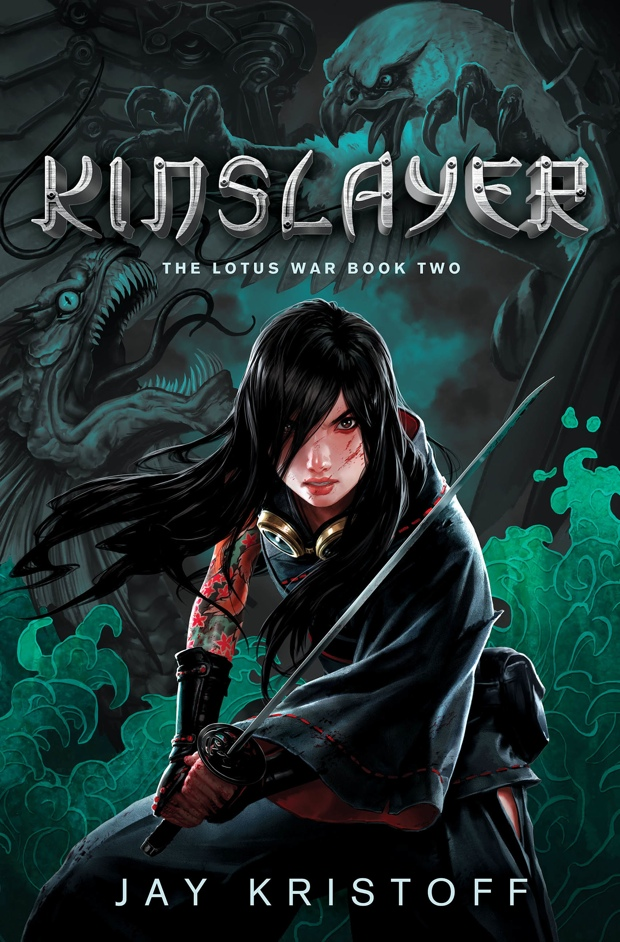 Kinslayer by Jay Kristoff | Good Books And Good Wine