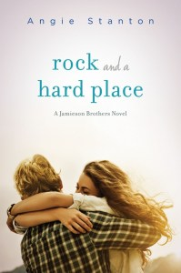 Rock And A Hard Place by Angie Stanton   Good Books And Good Wine
