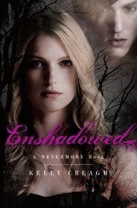 Enshadowed Kelly Creagh Book Cover