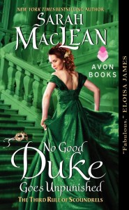 No Good Duke Goes Unpunished | Sarah MacLean | Book Review