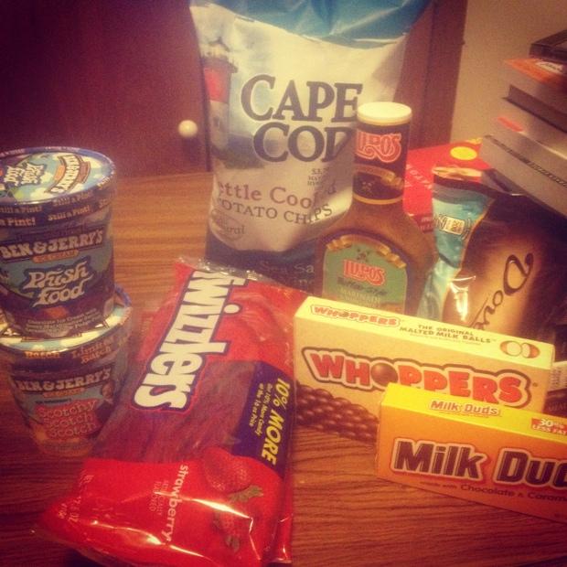 readathon snacks