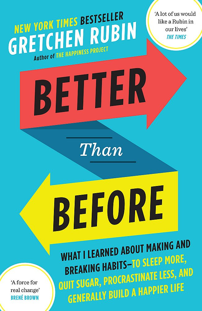 Better Than Before: Mastering The Habits Of Our Everyday Lives by Gretchen Rubin | Book Review