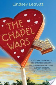 The Chapel Wars by Lindsey Leavitt | Book Review