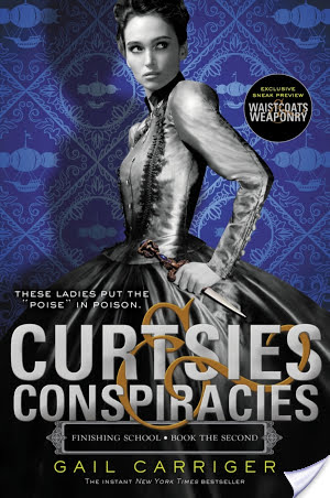 Curtsies & Conspiracies by Gail Carriger | Book Review