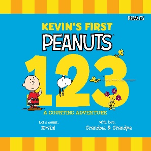 Peanuts-123-Personalized-Book-Cover
