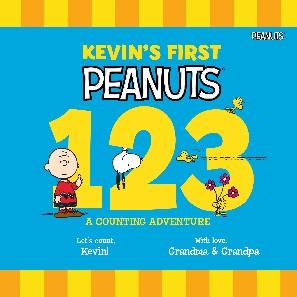 Peanuts-123-Personalized-Book-Cover
