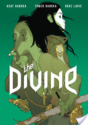 The Divine by Boaz Lavie art by Asaf Hanuka and Tomer Hanuka   Graphic Novel Review