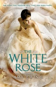 The White Rose by Amy Ewing is the second in the Lone City series and picks up where The Jewel leaves off.